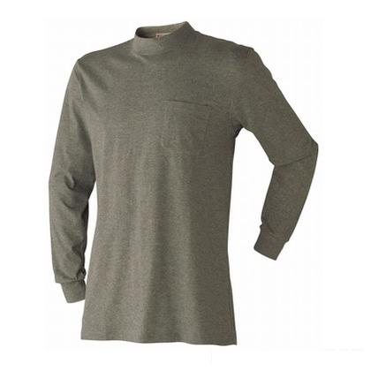 アタックベース ローネックシャツ オリーブ M 7070-15