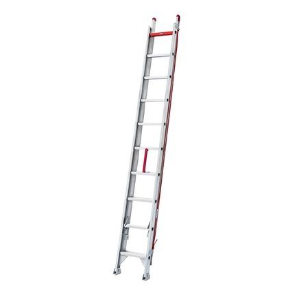 2連梯子LX2 シルバー H3240~5380×406? LX2-54