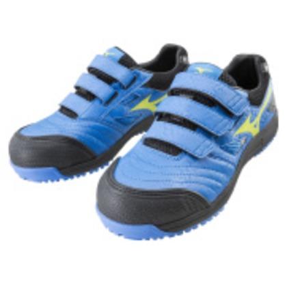 ミズノ 作業靴 オールマイティFF ブルー×イエロー×ブラック 27.0cm C1GA180127270