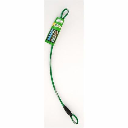 和気産業 反射ワイヤーコード 緑 長さ:0.5m WJ-31