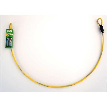 和気産業 反射ワイヤーコード 黄 長さ:1m WJ-42