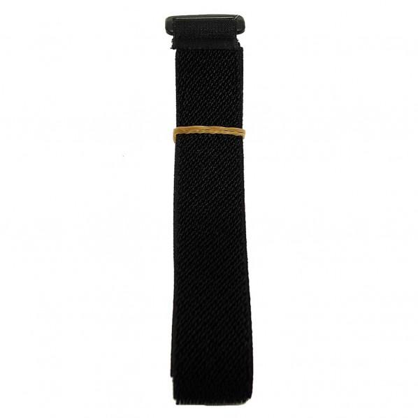 ストレッチベルト 黒 寸法:幅25mm×長さ1000mm