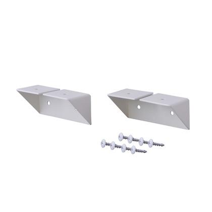 棚受 シェルフサポート アイアン ホワイト 幅8.6×奥行3.6×高さ3.6cm IXO-2