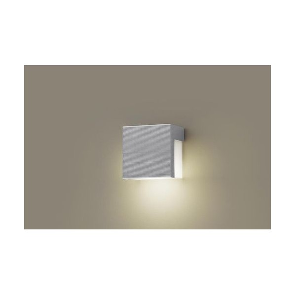 パナソニック LED表札灯40形電球色 長さ (cm):12.5.幅(cm):12.5.高さ(cm):8.5 LGW85111F