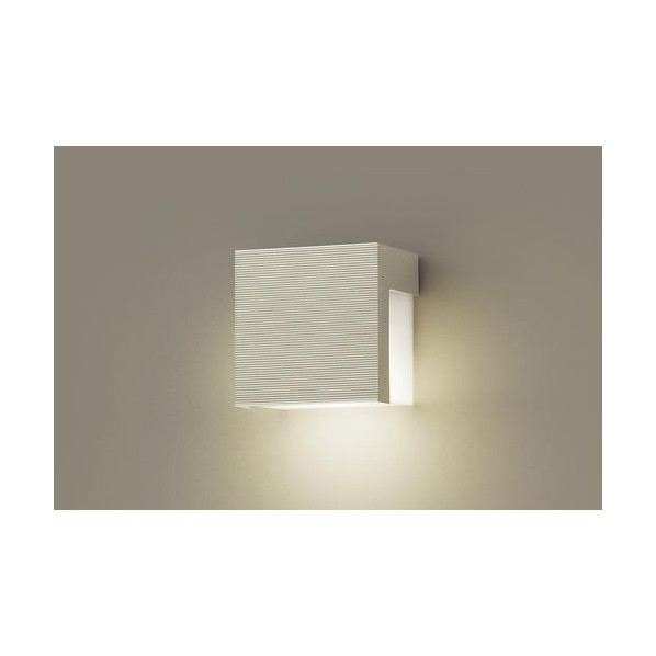 パナソニック LED表札灯40形電球色 長さ (cm):12.5.幅(cm):12.5.高さ(cm):8.5 LGW85114F