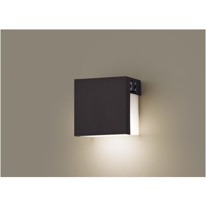 パナソニック LED表札灯40形電球色 長さ (cm):12.5.幅(cm):12.5.高さ(cm):8.5 LGWJ85113F