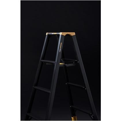 アルインコ/ALINCO 静音脚立 ジャガー ブラックアルマイト 5尺(1420mm) JAG150B