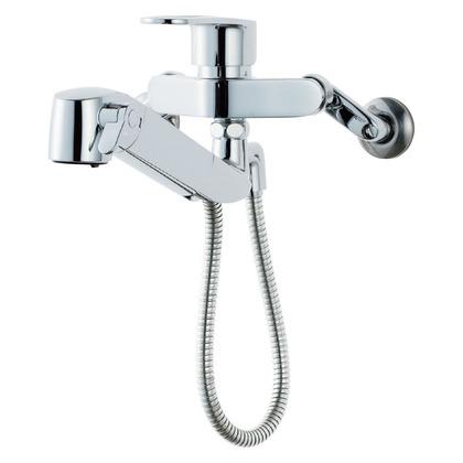 壁付浄水器内蔵型キッチン水栓      15.5×46×10 RJF-865YN