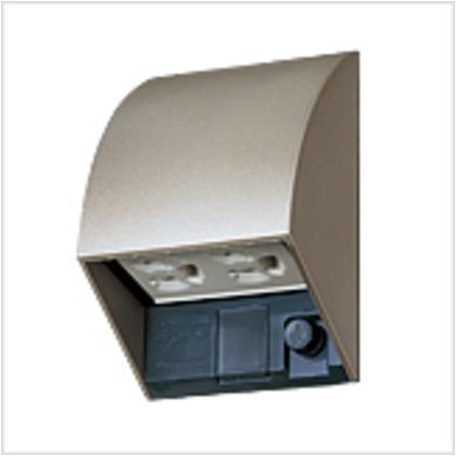 パナソニックエコソリューションズ スマート設置防水ダブルコンセント シャンパンブロンズ W87×H126×D67mm WK4602QK