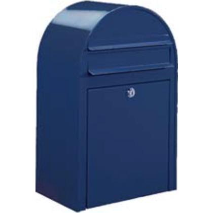 BOBI ボビ 郵便ポスト ネイビーブルー W318×H500×D210mm AAH05A