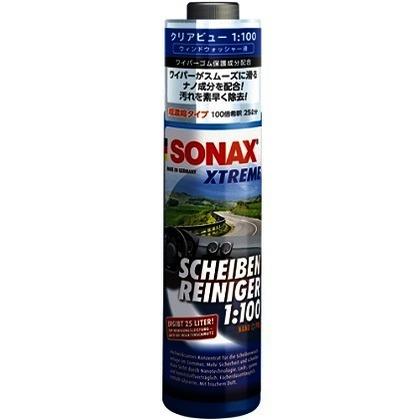 SONAX エクストリーム クリアビュー 1:100 ブルー 幅50mm高さ210mm奥行50mm 271141