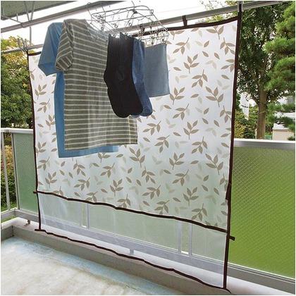 レック 雨よけ洗濯物カバー リーフ L W-483