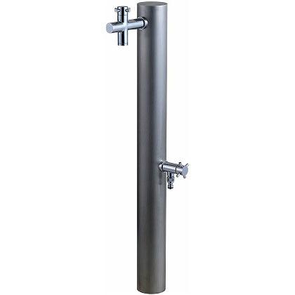 ウォーターポスト2口(水栓柱) ヘアライン φ89.1×H1180mm 325H