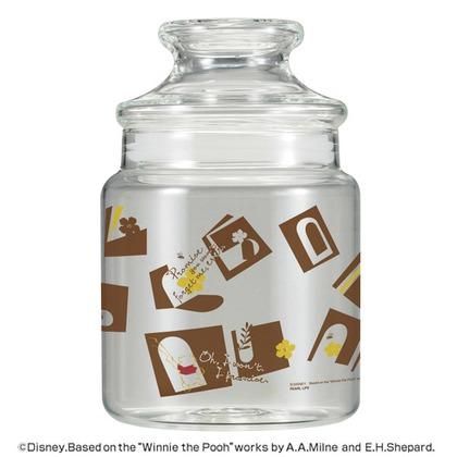 パール金属 キャンディーポット 保存容器 くまのプーさん 約束 MA-1605