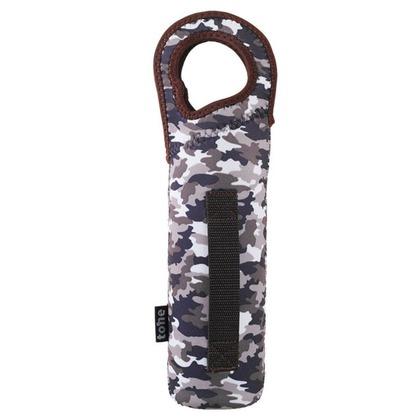 トーン tone ボトルカバー 水筒カバー TC-10 アーミーグレー 約 直径8×高さ23(取っ手含む高さは32)(cm)