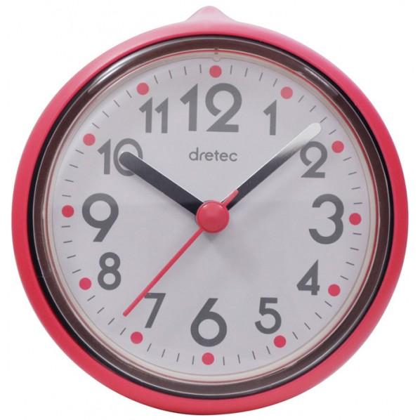 ドリテック dretec おふろクロック スパタイム ピンク 約 幅10.1×奥行き4.5×高さ10.7cm C-110PK2