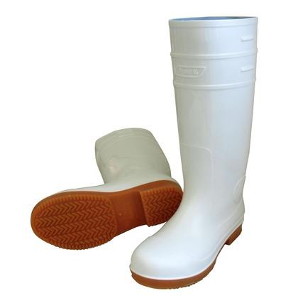 【送料無料】ハイパーV 先芯入り耐油衛生長靴 白 26.0  #4500