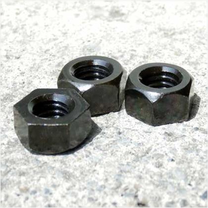六角ナット M10 黒亜鉛色 M10 ID-301 4 個
