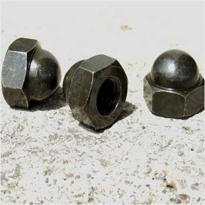 袋ナット 黒亜鉛色 M10 ID-311 4 個