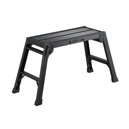 アルミ足場台ブラックDRXB ブラック H520×W390×D1000mm DRXB-0752