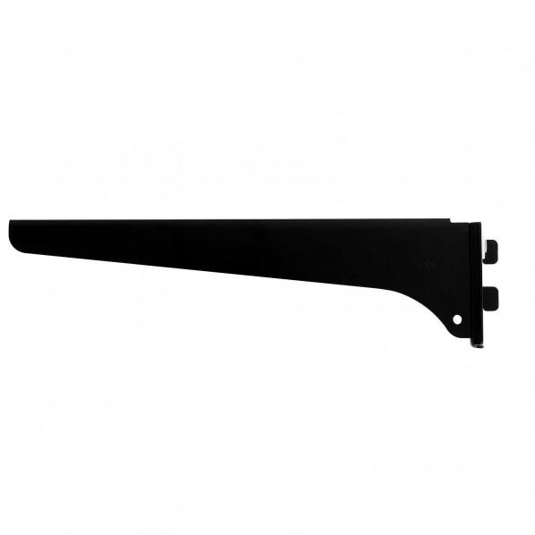 ファッション棚受 木棚用(右) 黒 長さ:250mm