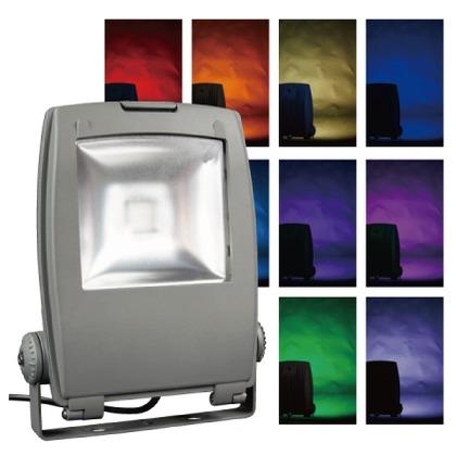 LEDフルカラー投光器  244×88×309mm PDS-C01-40FL
