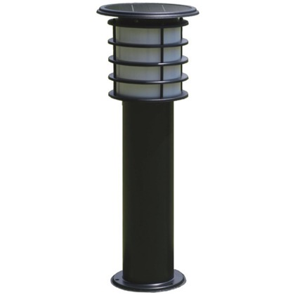 ソーラーポールライト(60cmタイプ) ブラック  SPL-06-WHB