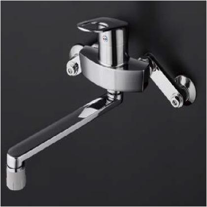 【送料無料】TOTO 壁付シングル混合水栓(エコシングル、吐水切替) TKGG30ECシングルレバー混合栓