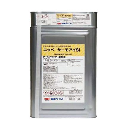日本ペイント サーモアイSI クールライトグリーン 15kgセット ニッペ 屋根