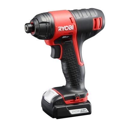 充電式インパクトドライバー 赤・黒 110X312X282 BID-1110L1