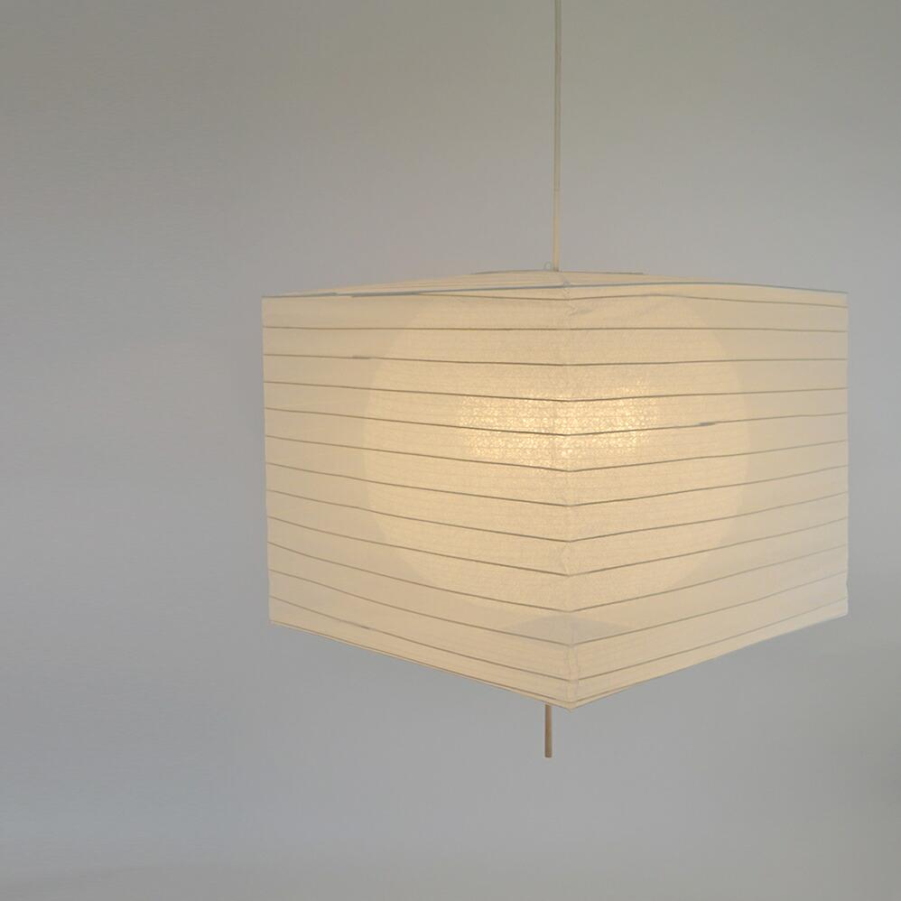 日本製和紙照明 四角型二重提灯 square 電球別売