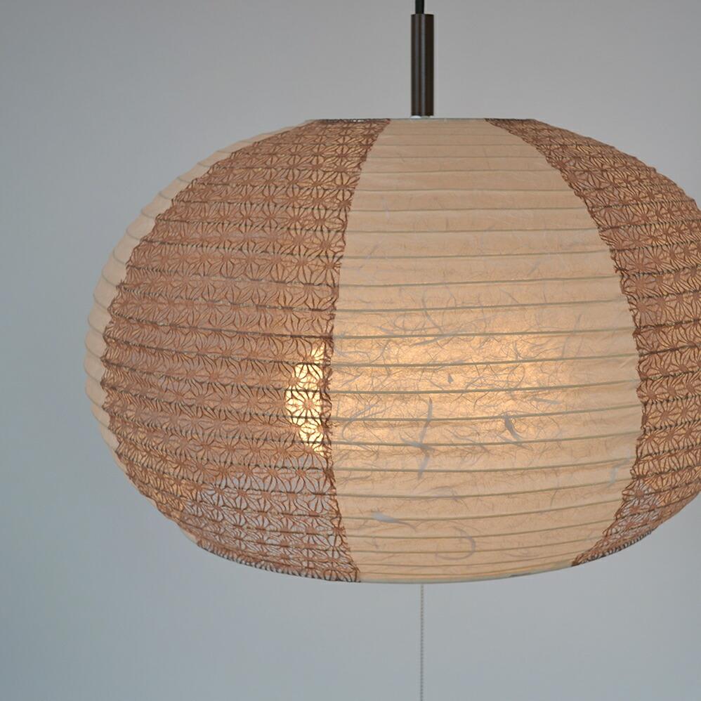 日本製和紙照明 3灯ペンダントライト swell 電球別売