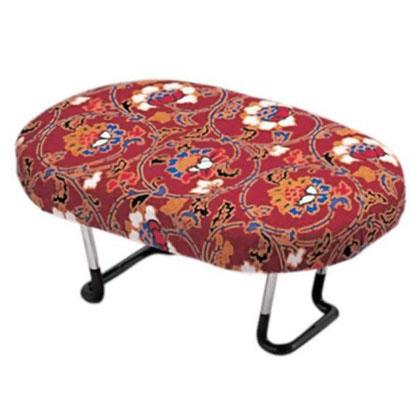 住友産業 正座椅子 折りたたみ式 赤 幅16×奥行25×高さ10.5cm  D-8