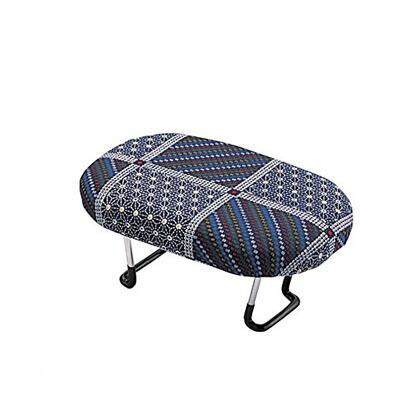 住友産業 正座椅子 折りたたみ式 紺 幅16×奥行25×高さ10.5cm  D-8