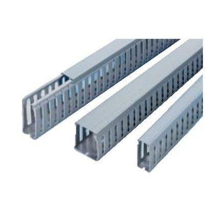 鉛フリー配線ダクト カッチングダクトBDRタイプ グレー 長さ2000mm×幅30mm×高さ60mm BDR-362 10 本