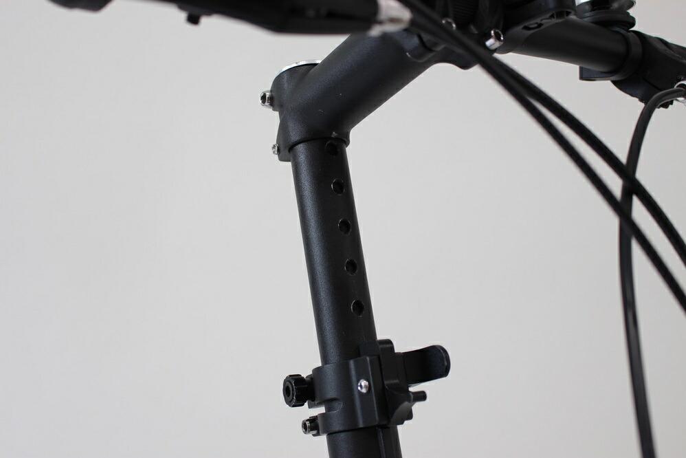 ノーパンク20インチ折畳自転車 6段ギア