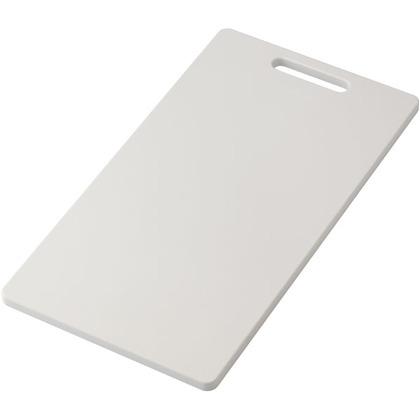 HOME&HOME 耐熱抗菌まな板 LL ホワイト 420×230×12(mm)  GITA009 キッチン