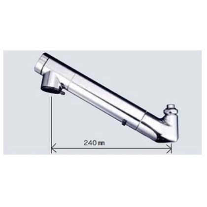 KVK 浄水器内臓吐水パイプ13(1/2)用 ZS202 配管