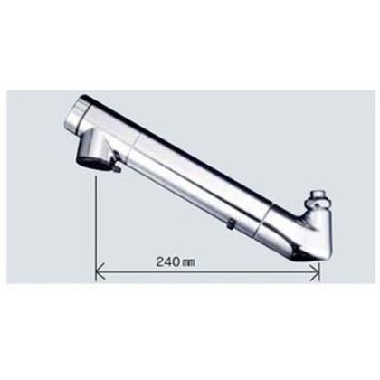 KVK 浄水器内臓吐水パイプ13(1/2)用(寒冷地用) ZS202Z 配管