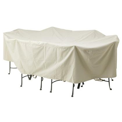 【送料無料】タカショー ガーデンファニチャーカバー オーバル ベージュ 約幅234cm×奥行き152cm×高さ63.5cm GFC-03 カバー 1