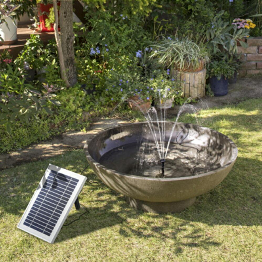 ソーラー マーメイド250 噴水セット(LED付)