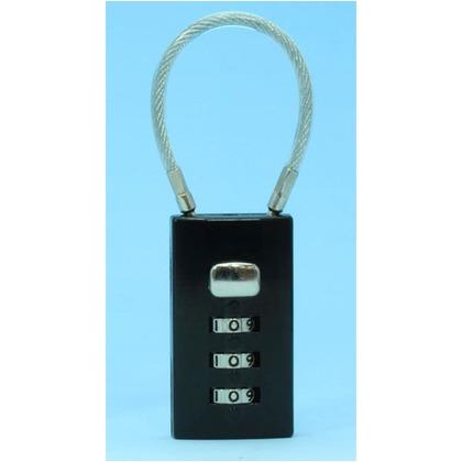 和気産業 ケーブルロック2 黒 IB-108