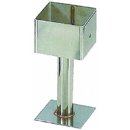 ステン角型柱受け金物 75mm 75mm