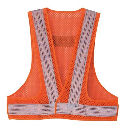 アイトス クールリフレクティブメッシュベスト50 063オレンジ F 8712-063-F