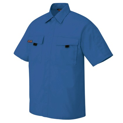 半袖シャツ(男女兼用) 006ロイヤルブルー L 5576-006-L