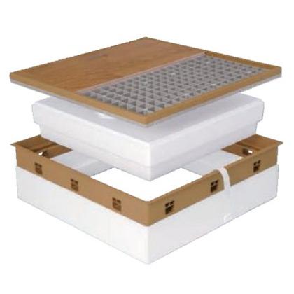 JOTO 高気密型床下点検口 アイボリー 410mm×560mm SPF-R45C-BL3 IV 床下点検口