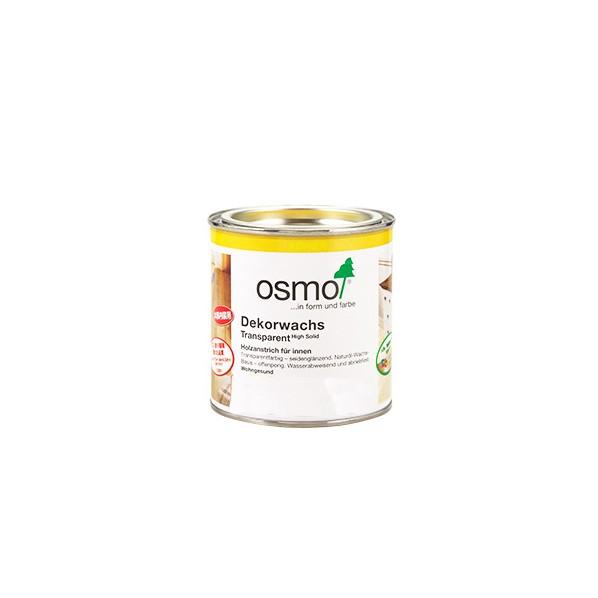 オスモ&エーデル オスモカラーウッドワックス ウォルナット 0.375L 3163