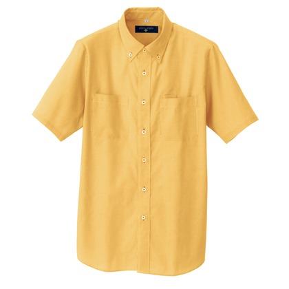 アイトス 半袖ボタンダウンシャツ(コードレーン)(男女兼用) 163オレンジ 4L 50402-163-4L