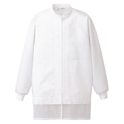 アイトス コート(男女兼用) 001ホワイト L 861005-001-L