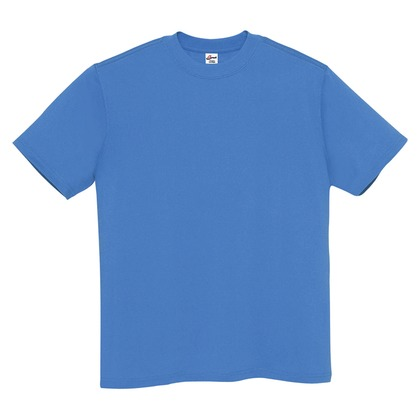 アイトス Tシャツ(男女兼用) 044オーシャン 4L MT180-044-4L